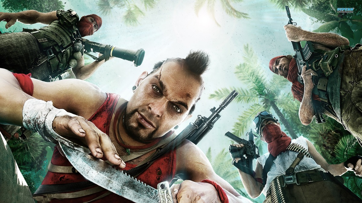 Far Cry 3 is insane!
