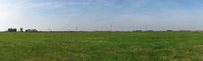 Landschap bij Hekkum